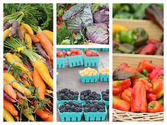 foodopia:    tips for shopping at a farmers market: here