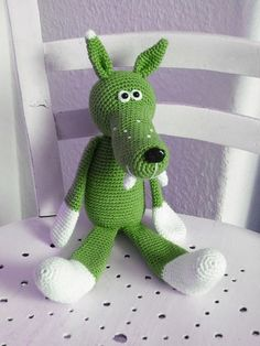 crocheted wolf - Bing images
