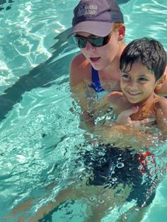 Swim lessons aren't just for rookies. We also offer lessons for adults, swim teams and snorkeling classes.