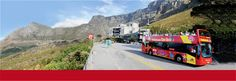 City Sightseeing Cape Town and Joburg Hop on Hop off Red Bus Ocean Aquarium, Stuff To Do, Things To Do, Red Bus, Cape Town, South Africa, Westerns, Places To Visit, Wanderlust