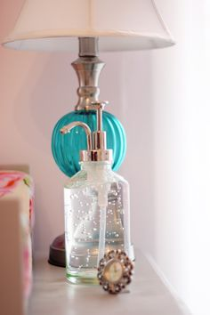 I have an extra pump like this - perfect for homemade hand sanitizer on the changing table. Nursery Room, Girl Nursery, Girl Room, Nursery Organization, Changing Table Organization, Nursery Inspiration, Nursery Ideas, Project Nursery, Room Ideas