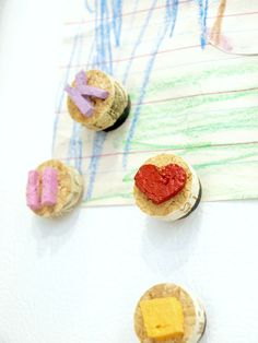 Family DIY Projects - How To Make Your Own Cork Magnets