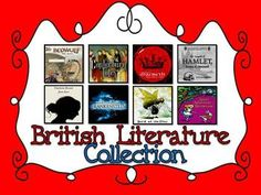 British Literature Collection: An Entire Year of Teaching Materials - Danielle Knight - TeachersPayTeachers.com