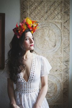 Cool Fiesta Wedding Inspiration by Claire Eliza Photography and High Violet Flowers
