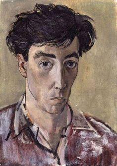 Self Portrait / John Minton (1917-1957)  1953 / Oil on canvas / National Portrait Gallery, London