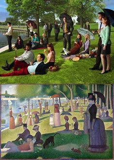 sunday afternoon on the island of la grande jatte [with dunder mifflin paper co.]
