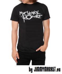 My Chemical Romance Pánske Tričko logo vpredu XX-3XL (Jimmy Market)