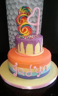Candy Cake. D & D Cake Designs. Jacksonville, Florida.