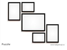 frame_idea_puzzle Stencil, Mirror, Frame, Furniture, Home Decor, Picture Frame, Decoration Home, Room Decor, Stenciled Table