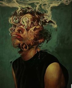 Illustration Art By Aykut Aydoğdu Aykut Aydoğdu, Turkey is an artist born in 1986 in Ankara. Aydoğdu, who has worked on art in both his high school years Mandala Art, Art Et Design, Arte Obscura, Arte Sketchbook, Gcse Art, Ap Art, Surreal Art, Pretty Art, Portrait Art