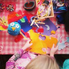 Uiltjes haken tijdens kinderfeestje