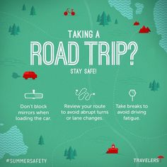 Taking a Road Trip?  Stay Safe!