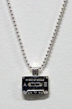 Mini Cassette Tape Necklace