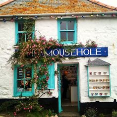 """""""The loveliest Village in England"""" as Dylan Thomas described Mousehole in Cornwall ( pronounced mau-zul) Cornwall England, Devon And Cornwall, Yorkshire England, Yorkshire Dales, St Ives Cornwall, England Ireland, England And Scotland, Mousehole Cornwall, St Just"""