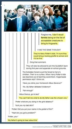 """They never let the story end. 