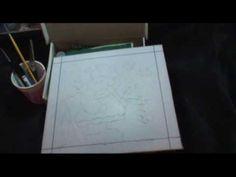 PATCHWORK NO ISOPOR (EMBUTIDO) - 2 - MATERIAIS - COM LU HERINGER