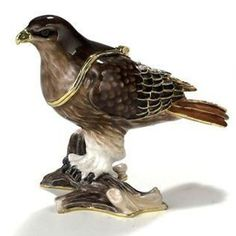 #3385 Red Tail Hawk Trinket Box can be found at www.pacifictraders.biz