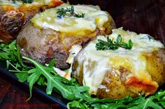Cartofi umpluti cu branzeturi, la slow cooker | CAIETUL CU RETETE