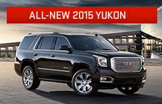 2015 Yukon Full Size SUV | Exterior Photos