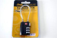 4eb0725c7f04f Candado de Cable aprobado por la TSA de Combinación 3 Dígitos para maleta  compra en línea México