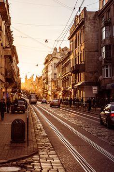 Sunset, Lviv, Ukraine photo via besttravelphotos