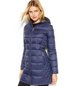 Michael #Kors Quilted Down Packable Puffer #Coat. In black !!!!!