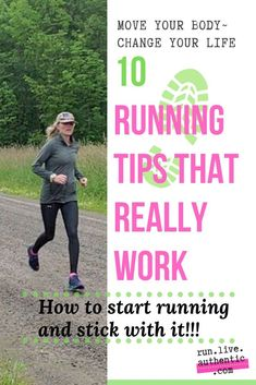 How to start running: tips for running for relaxation, health, for a cause or for time away from the kids. Get a training plan and stay motivated! Running A Mile, Running Plan, Running On Treadmill, Running Workouts, Walking Or Running, 5k Running Tips, Running Training Programs, Running Form, Learn To Run