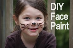 Homemade Face Paint Tutorial http://www.mommypotamus.com/how-to-make-homemade-face-paint-thats-safe-enough-to-ea/