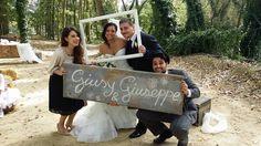 """""""Scene di un film muto"""" : Accoglienza invitati e sposi..."""