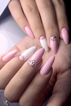 Beautiful Pink Nail Art picture 2
