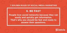 The 7 golden rules of social media marketing 6 #socialmedia #marketing