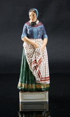 Lot: 2066185Royal Copenhagen Juliane Marie figure, no. 12167, model Havdrup, from the series 'Danske Folkedragter' This lot has been put up for resale under the new lot no. 2095165