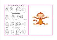 Mariaslekrum - Illustrerade sångkort med tecken Swedish Language, Student Studying, Medical Students, Kindergarten, Singing, Preschool, Education, Pictures, Crafts