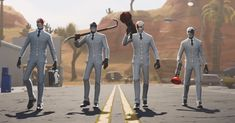 Fortnite battle royale the getaway Latest Video Games, Video Game News, Best Funny Pictures, Cool Pictures, Xbox Exclusives, Super Hero Outfits, Epic Games Fortnite, Battle Royale, Skin Mask