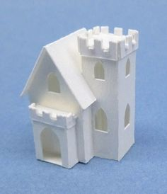 Miniature Paper Houses created by Karin Corbin