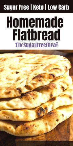 keto low carb sugar free and the best ever homemade flatbread recipe Read more at: thesugarfreediva.com/ Copyright thesugarfreediva.com ... to feel sluggish and bad and mad at yourself when you are headed for a business meeting or out to see the local sights. Try to stay strong.But if you...just don't feel so guilty and simply give up - get back on the diet track as quickly as possible and quickly resume enjoying your protein and low carb #keenrecipes.com #keto-easy-dessert #keto