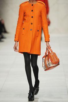 Burberry Prorsum  Collarless wool coat  $2,495