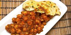 Indijski Chana Masala - slanutak u curry umaku