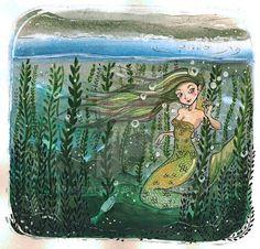 Mermaid by PaHralova.deviantart.com on @DeviantArt