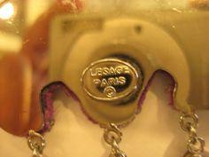 Lesage Paris Fuschia Earrings - Pollysprops - Rubylane - Feb 2014  $220