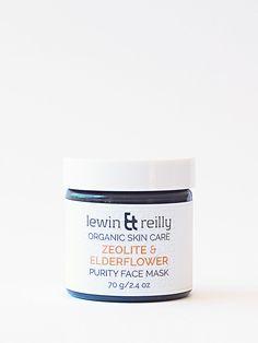 Levin & Reilly - Purity face mask - Zeolite & Eldeflower - ζεόλιθος | Zeolife.gr
