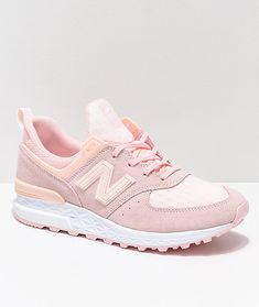 963f0da95cb3 New Balance Lifestyle 574 Sport Sunrise Glow Shoes