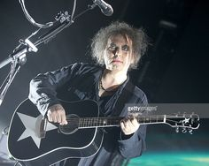 Robert Smith of The Cure performs in concert at The Frank Erwin Center on May 13, 2016 in Austin, Texas.