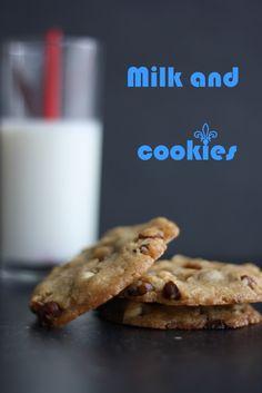 Milk and cookies ♥ jegelskermad.dk