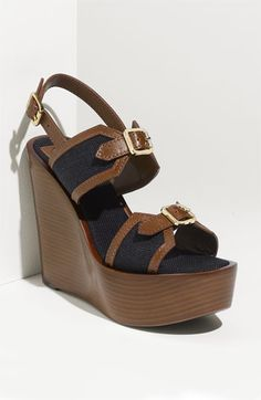 Tory Burch wedges...can't wait until the spring.