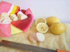 Biscuits fondants au citron - Tizi Cooks