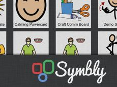Symbly: A new tool for creating and sharing visual supports, including communication boards, social stories, visual schedules, and more. It features expert examples and a community of shared supports. Symbly is also fully iPad compatible, so you can edit your supports on the go, and view them even where there's no Internet connection available.    FREE 30 Day Trial is available.