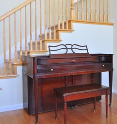 piano paint centsationalgirl upright centsational before being