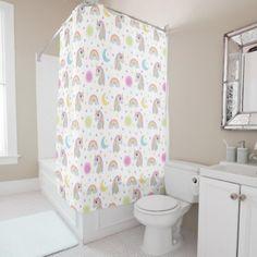 Unicorn Dreams Shower Curtain - shower gifts diy customize creative