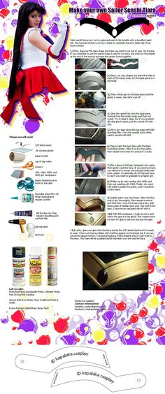 Sailor Senshi Tiara tutorial  Credits to the owner (c)